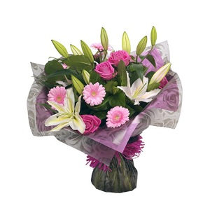 Rose & Lily Delight bouquet